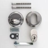 Låstype, sylinder/vrider